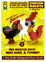 chicken robots in disguise